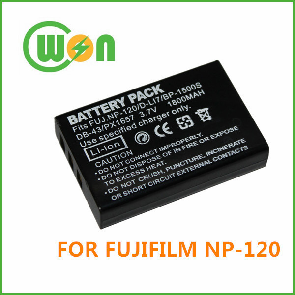 NP-120 NP120 Camera Battery for FUJIFILM Finepix F10 F11 603 M603 Zoom