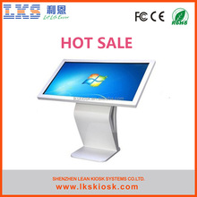 LKS newest 32inch touch all in one interactive advertising kiosk