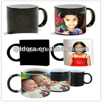 Football Temperature Color Change Cup, Sublimation Magic Mug
