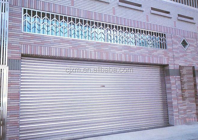 Motorized Folding Doors Industrial Plain Deign Bathroom Shutter Door
