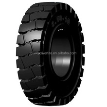 Solid tyres for forklift and small field running vehicles