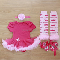 Lovely design organic cotton organic baby gift set clothes