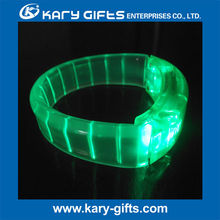 holiday gifts colorful sound activated concert decor lighted wristband