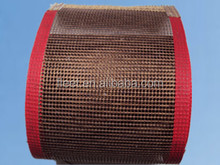 High efficient teflon mesh conveyor belt with competitive price 4*4 mesh size
