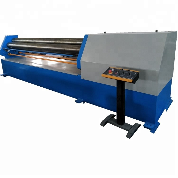 <strong>W11</strong>-<strong>6X1500</strong> Manual Metal Steel 3 Roll Plate <strong>Rolling</strong> Bending <strong>Machine</strong>