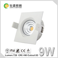 CE,Rohs,NEMKO cct dimming 2000k-2700k GYRO Lamp led light ip44