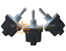 Road construction machinery asphalt finisher toggle switch