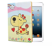 Cute cartoon leather case for pc tablets/ Hot sellings leather case for pc tablets