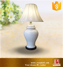 Antique hand painted porcelain ceramic table lamp from Jingdezhen
