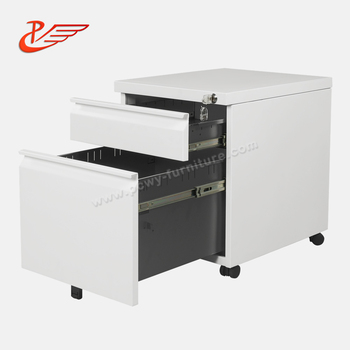 2-Drawer Mobile vertical file cabinet and lateral file cabinet