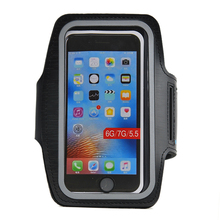 factory price mobile accessories Adjustable Cycling armband