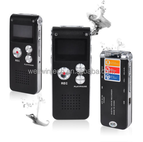 4GB Dictaphone definition sound Digital Voice Recorder