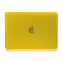 For New Macbook Yellow Case, Retina Display 12 Inch Laptop Computer [2015 Release]