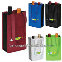 High quality reusable non woven wine bag