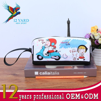 cartoon small students pencil bags school customer printed own pencil bags