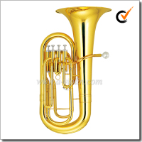 [WINZZ] Musical Instrument Bb Key Yellow Brass Jinbao Euphonium (EU1140G)
