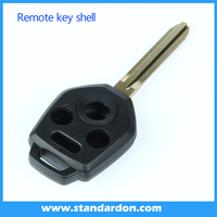 2015 New 4Buttons Blade Shell Auto Car Remote Key Replacement Case Emergency For Subaru