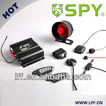 GSM/GPS Smart phone car alarm system