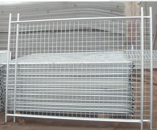 Hot Dip Galvanized temporary fence panels