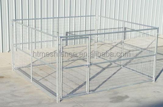 LARGE 12'X12'DOG KENNEL PET PEN FENCE RUN OUTDOOR HOUSE ENCLOSURE