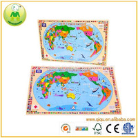 China Supplier Educational World Map Puzzle For Kids