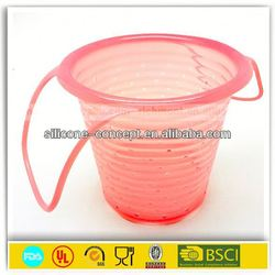 soft bucket for food warm