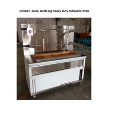 Heavy duty industrial kitchen equipment chicken rotisseries oven gas or charcoal for option