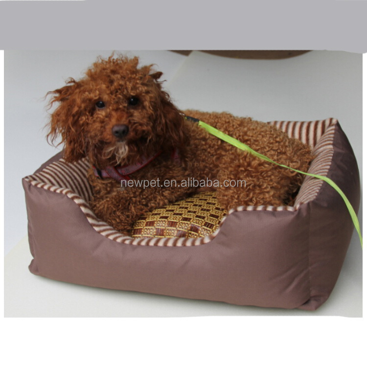 Good reputation best sell non-removable square bed and cheap cool pet beds for dogs