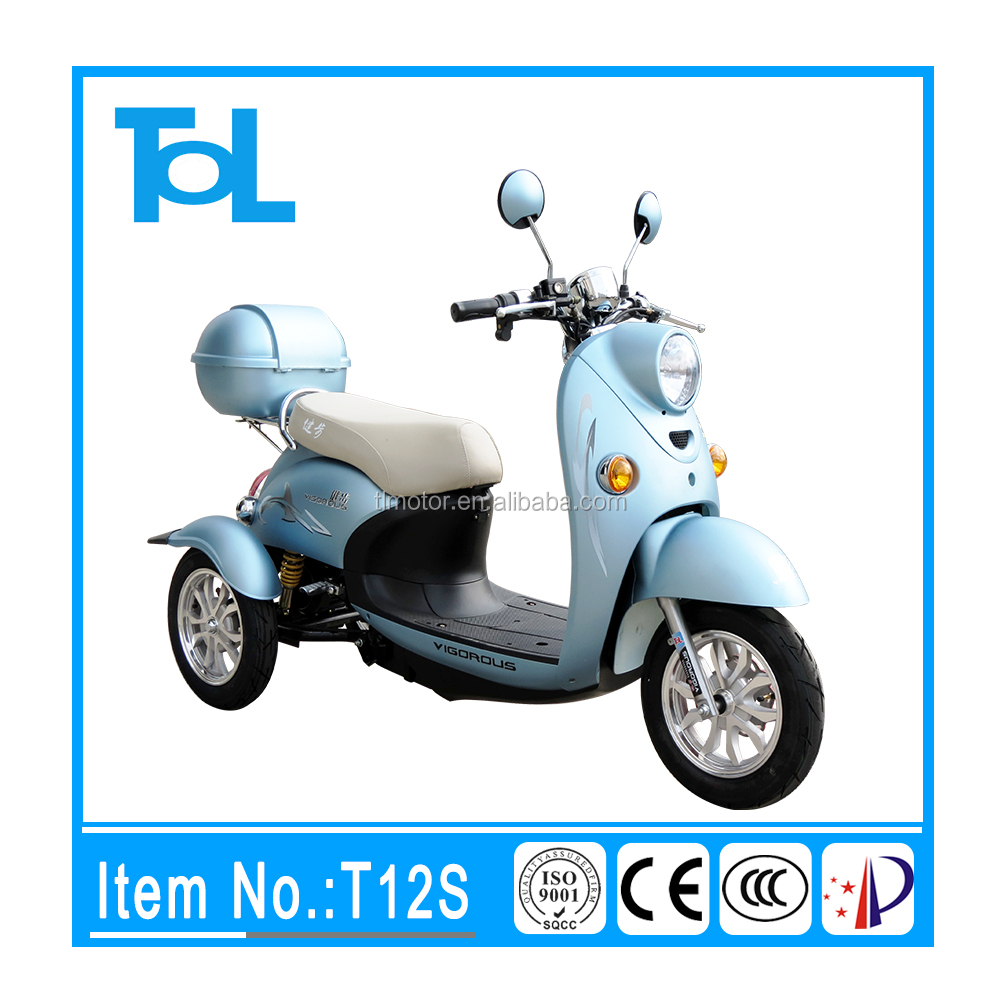 popular across the world 3 wheel long running distance scooter india