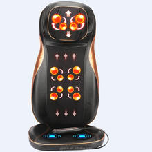 buttocks massage cushion with roller on back buttock vibration