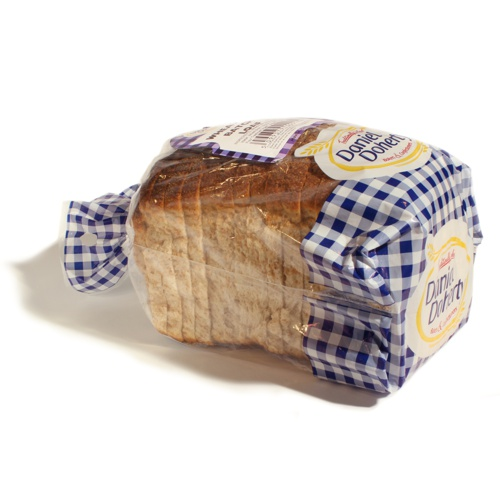 Printed Bread Plastic Packing Bag For Food