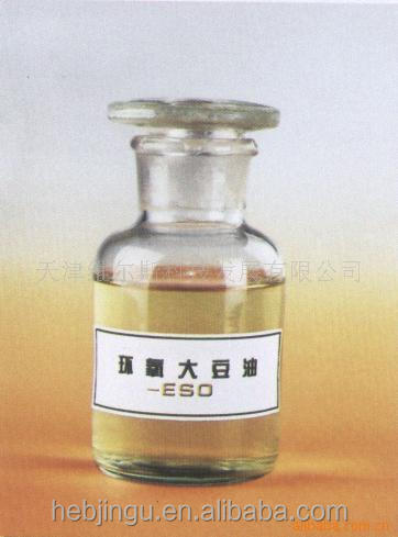 China plasticizer ESO factory epoxidized soybean oil for rubber industry