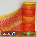 2018 100%NEW MATERIAL Orange color road warning safety warning net/ alert mesh/ plastic safety fence net