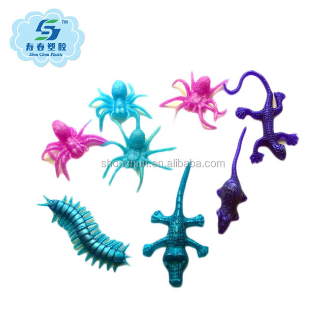 TPR sticky All kinds of insects promotions toys