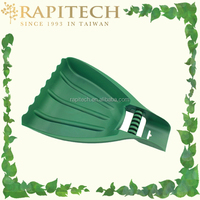 Plastic Garden Tool Hand Leaf Scoop Leaf Collector