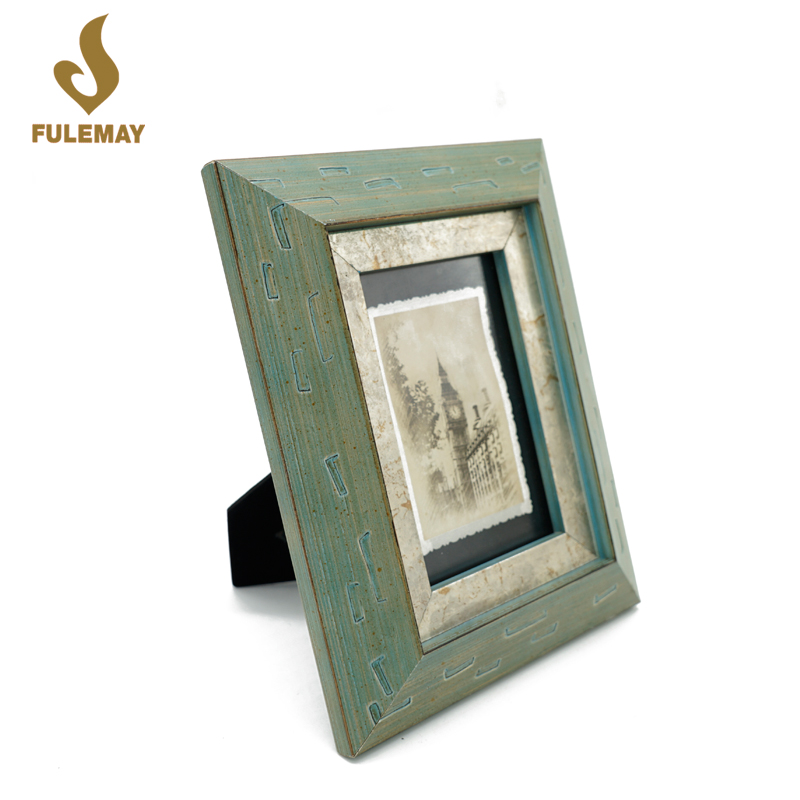 8X10 Islamic wood manual paint picture frames photo frame