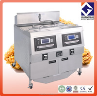 broasted chicken machine used pressure fryer kfc chicken frying food gas machine