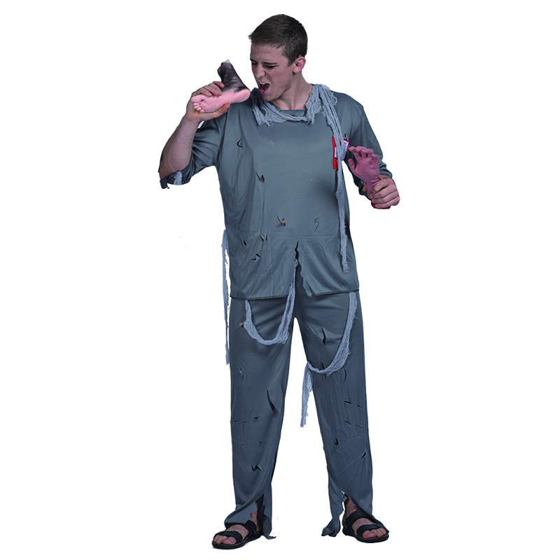 Scary Halloween carnival party costume adult men zombie doctor role play costumes