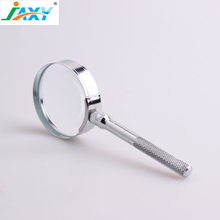 Jaxy 6X75 High Class Antique magnifier Magnifying Glass with metal handle for low-sight reading