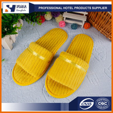 Customized logo slipper for hotel with good quality