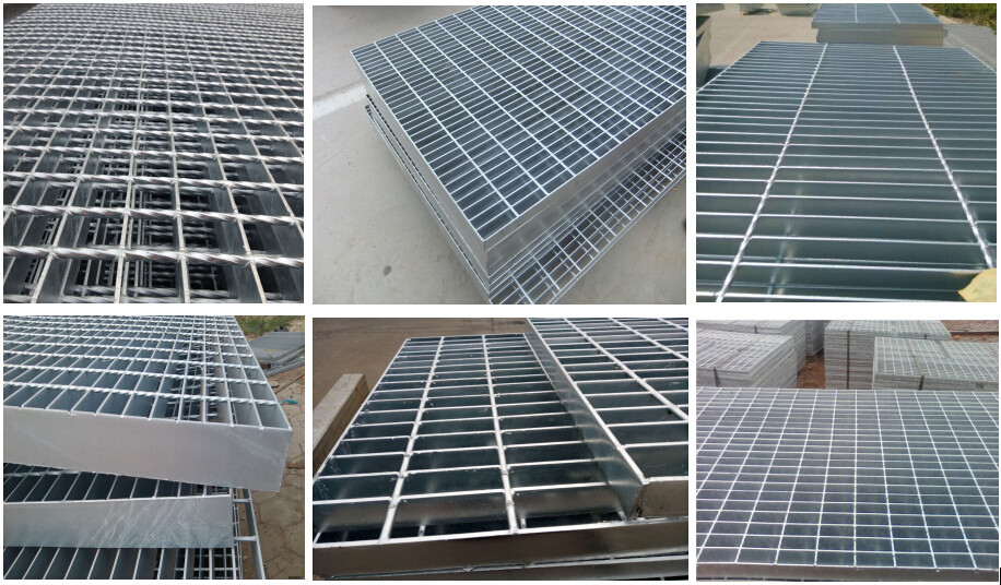 Factory hot dipped galvanized catwalk floor steel grating for Catwalk flooring