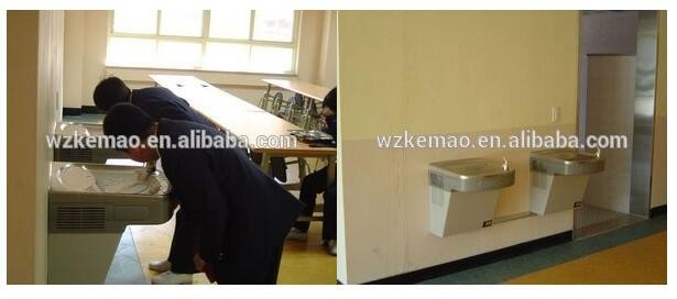 Wall Mounted Drinking Water Fountain  For School Use