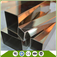ss grade 201 202 304 316 mirror finish Stainless Steel pipe price list
