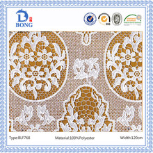 French chantilly characteristic popular lace fabrics