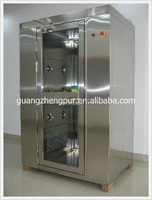 cheap price service life stainless steel air shower room
