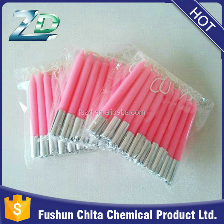 Wholesales professional factory price decorative taper birthday candle