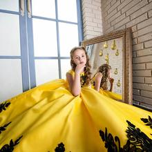 latest fashion 2018 normal children frock designs imported kids party dress for girls