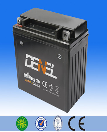 12v 6ah lawn mower lead acid dry charged maintenance free batteryhigh performance good quality sichuan china battery
