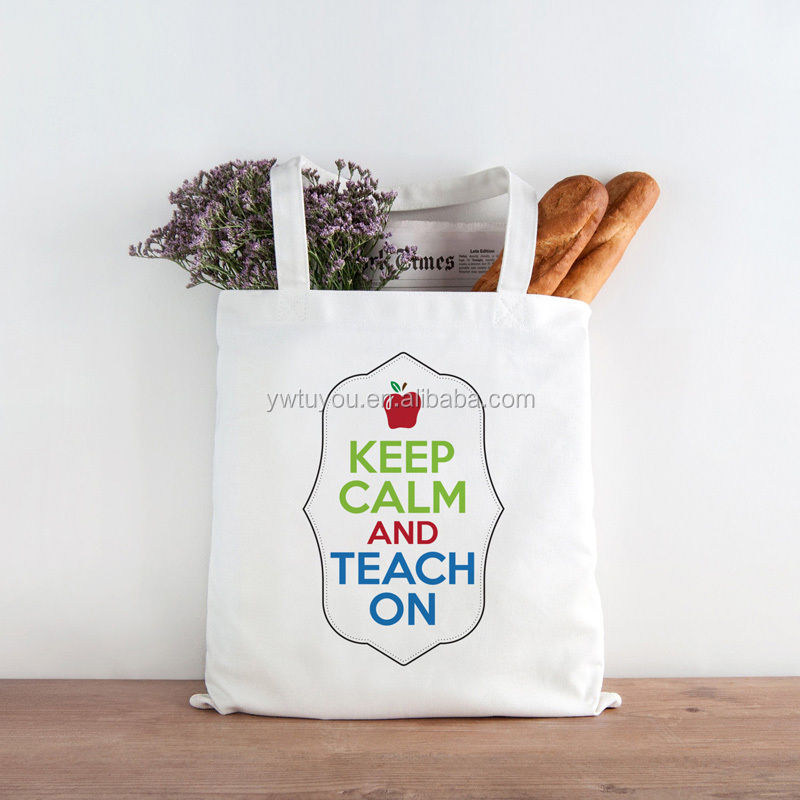 Eco Friendly Girls Lovely Tote Bag Canvas Shopping Bag
