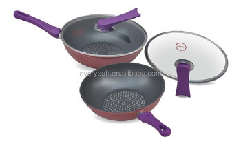 Induction furnace Frying pan/ Decoct pan With Non-Stick
